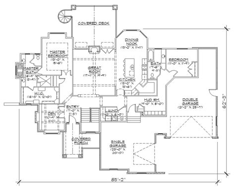 professional floor plan featured house plan pbh 9716 professional builder house plans luxamcc