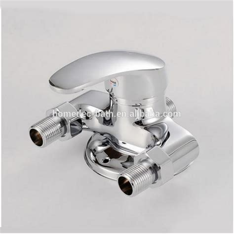hot shower then switch to cold surface mounted shower and faucet valve hot and cold taps