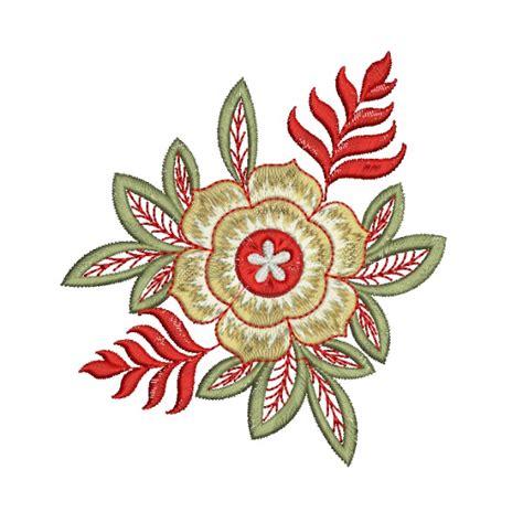 embroidery design flower single flower decor designs 4007 embroideryshristi