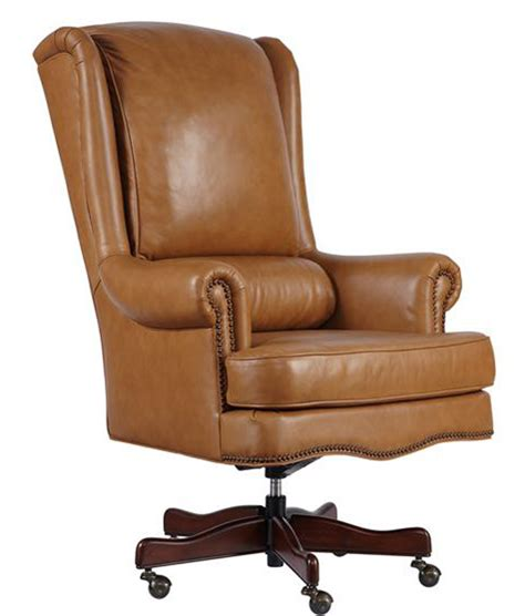genuine leather large executive desk chair ebay