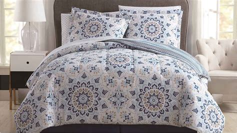 8 piece adington teal taupe reversible comforter set