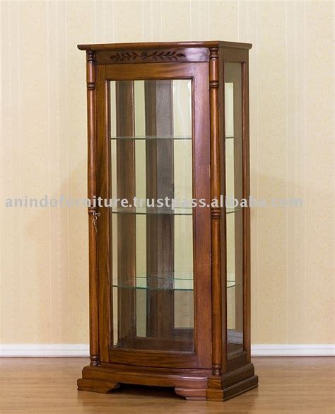 glass cabinets for living room high quality mahogany tall wood display cabinet for living