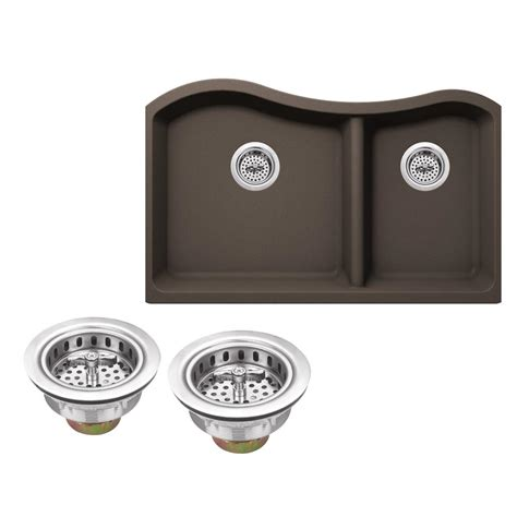 kitchen sink company ipt sink company undermount granite composite 32 1 2 in