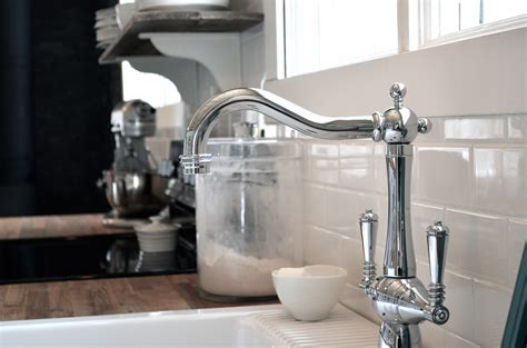 Farm Sink Faucet How To Create A Glam Country Farmhouse Kitchen Brizo