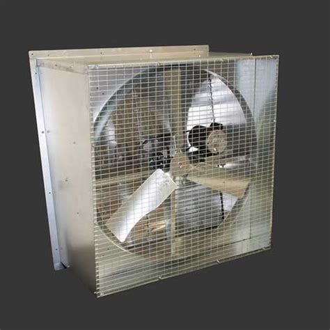 belt drive wall exhaust fan 48 quot slope wall exhaust fan belt drive 1hp 1ph 60hz 2