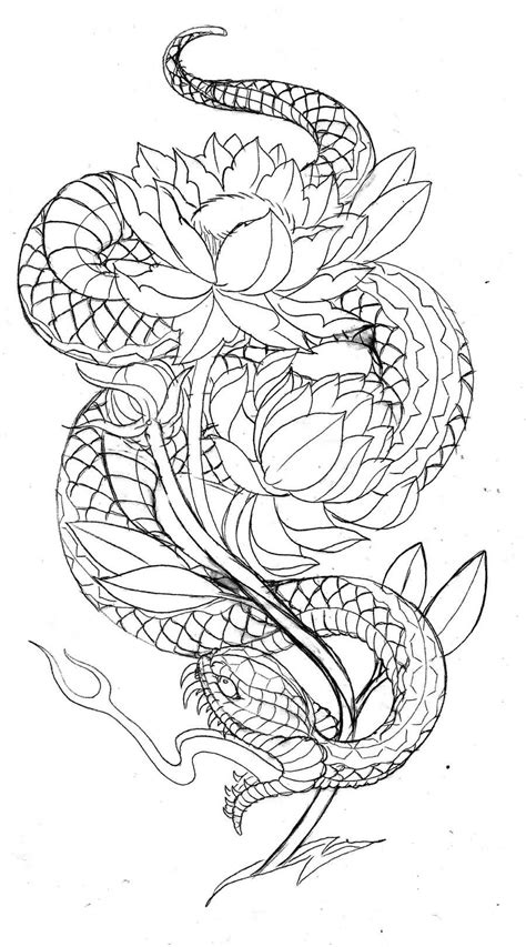 japanese snake tattoo design japanese ideas and japanese designs page 4