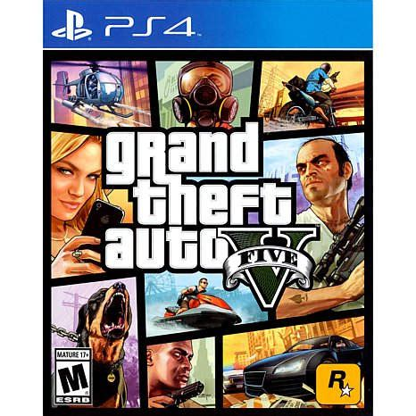 grand theft auto v playstation 4 hsn