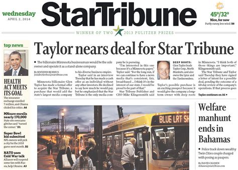Star Tribune Business Section 28 Images More Renters