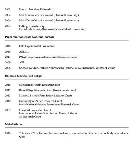 sle cv psychology professor a princeton psychology professor has posted his cv of failures the independent