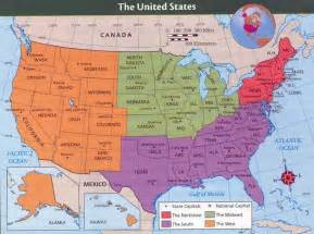 united states and map united states map