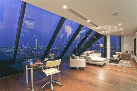 Ideas To Decorate Bathroom Walls Luxury Penthouse Overlooking London S Majestic Skyline