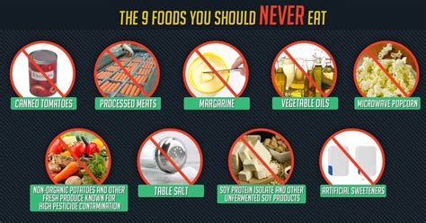 4 vegetables you shouldn t eat top 9 foods you should never eat again humans are free