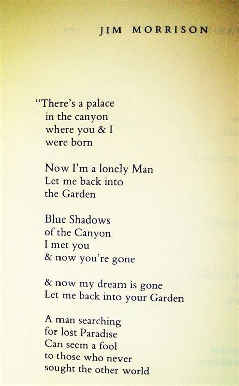 A Place Poem Douglas Wood 17 Best Images About The Doors Of P3rception On The Doors Dogs And Wilderness