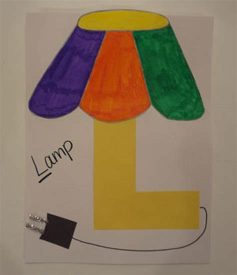 craft for preschool letter l crafts preschool and kindergarten
