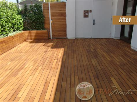teak deck refinishing