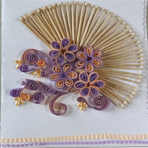 Paper Quilling - paper quilling by sheri card with paper quilled malaysian