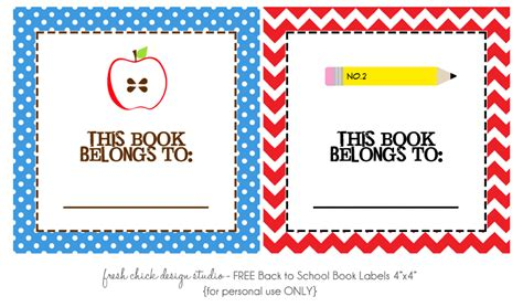 printable book tags free printables for back to school happy home fairy