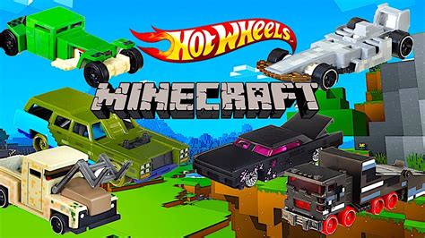 Wheels Hotwheels Minecraft new wheels minecraft character cars