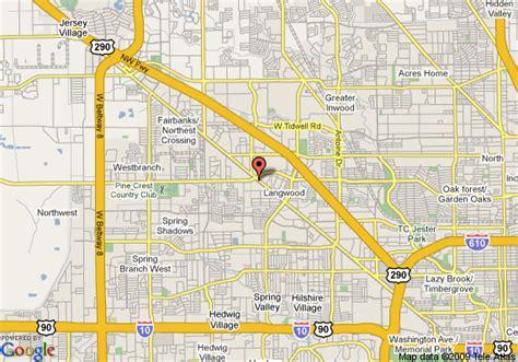 hempstead texas map map of budget host hempstead inn houston