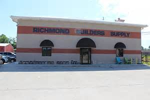 richmond builders supply st henry tile co