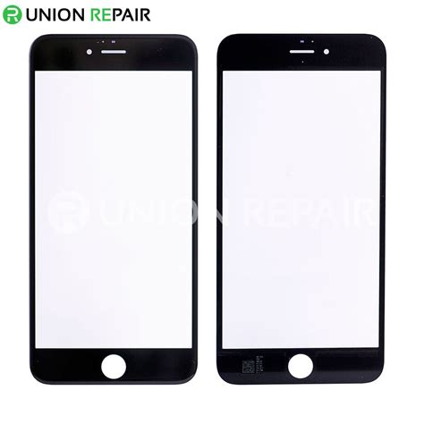 replacement for iphone 6s plus front glass black