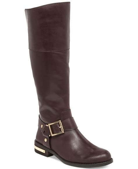 vince camuto shoes vince camuto kallie wide calf boots in brown