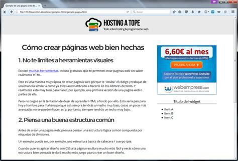 paginas con imagenes sin copyright c 243 mo hacer una p 225 gina web con html explicado s 250 per f 225 cil