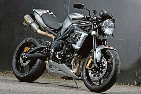 Ace Cafe's 10th anniversary Triumph Street Triple R cafe racer   MCN