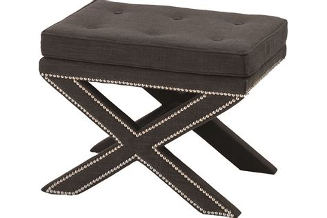 x base ottoman x base ottoman with caribbean leather mecox gardens