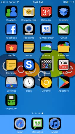 google themes for iphone google os life theme by seymourkittyjr install this ios