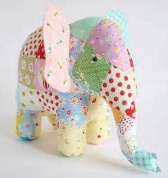 Patchwork Elephant Pattern - best 25 stuffed elephant ideas on elephant