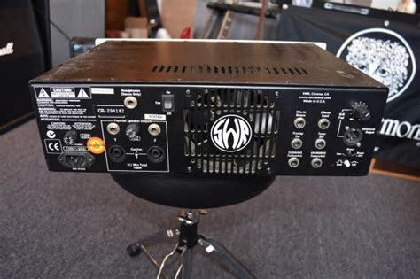 Swr Power Lifier Bass 750x swr 750x bass reverb