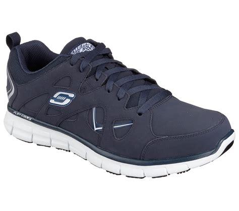 skechers work shoes buy skechers work relaxed fit synergy hosston sr work