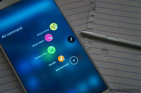 samsung air command apk 50 samsung galaxy note 5 tips tricks drippler apps news updates accessories