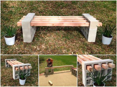 diy cinder block bench home design garden 12 diy smokehouse ideas home design garden