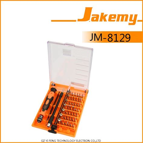Jakemy 45 In 1 Interchangeable Magnetic Screwdriver Set Jm 8129 jakemy 45 in 1 interchangeable magnetic precision screwdriver set repair tools jm 8129