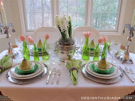 Day 6 Table Settings As by An St S Day Tablescape
