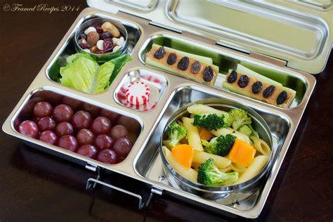 Bento Boxes by Broccoli Pasta Bento Box Framed Recipes