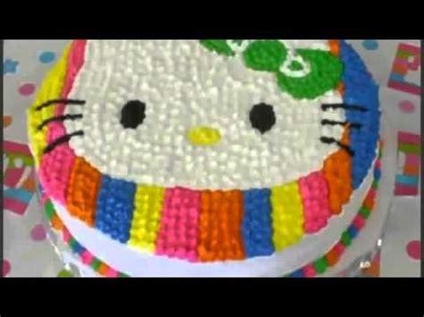 games membuat kue hello kitty cara membuat kue ulang tahun hello kitty 2 youtube