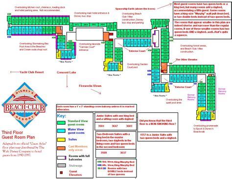 beach club floor plans disney beach club floor plan floor plan of the 2 bedroom