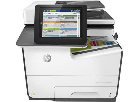 hp pagewide ent color mfp 586dn printer hp store australia