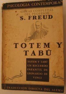 libro totem y tabu libros que traje de cuba y freud vino con la condesa en mi equipaje