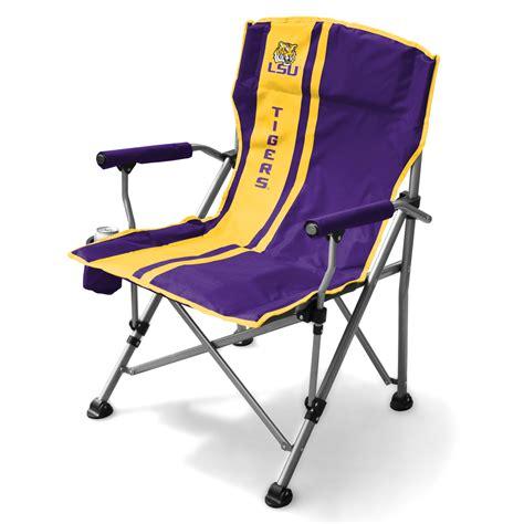 Lsu Chair lsu tigers sideline tailgate canvas chairs ncaa chairs