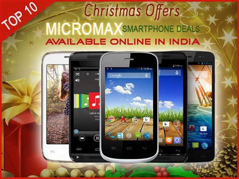 mobile offers in india offers 10 micromax smartphone deals available