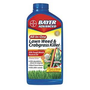 bayer advanced all in one weed crabgrass killer