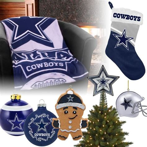 dallas cowboys christmas ornaments stocking tree topper