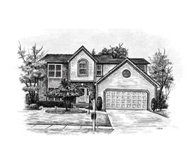 House Sketch | home sketch house sketch art from a photo art gallery