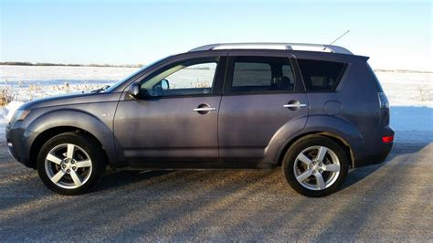 active cabin noise suppression 2007 mitsubishi outlander electronic valve timing 2007 mitsubishi outlander xls suv awd leather command start outside south saskatchewan