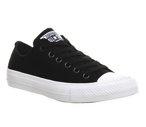 Converse Sport Black converse chuck ii ox black white unisex sports