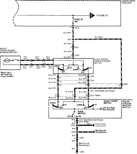 97 honda accord power window wiring diagram get free